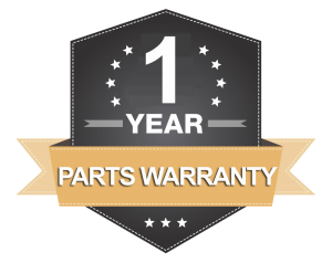 1-Year Parts Warranty icon