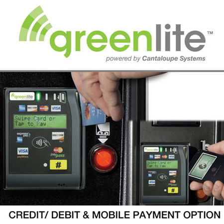 Credit Card reader from greenlite