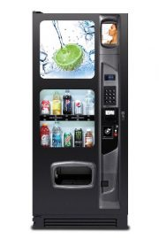 10 Selection Executive Drink / Soda New Vending Machine Front View