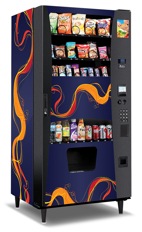 Custom Branded Vending Machine