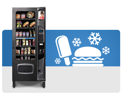 Cold and Frozen Food Vending Machines