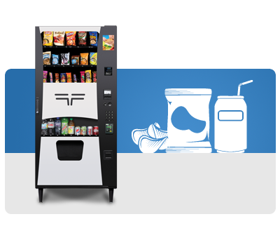 Combo Snack and Drink Vending Machines